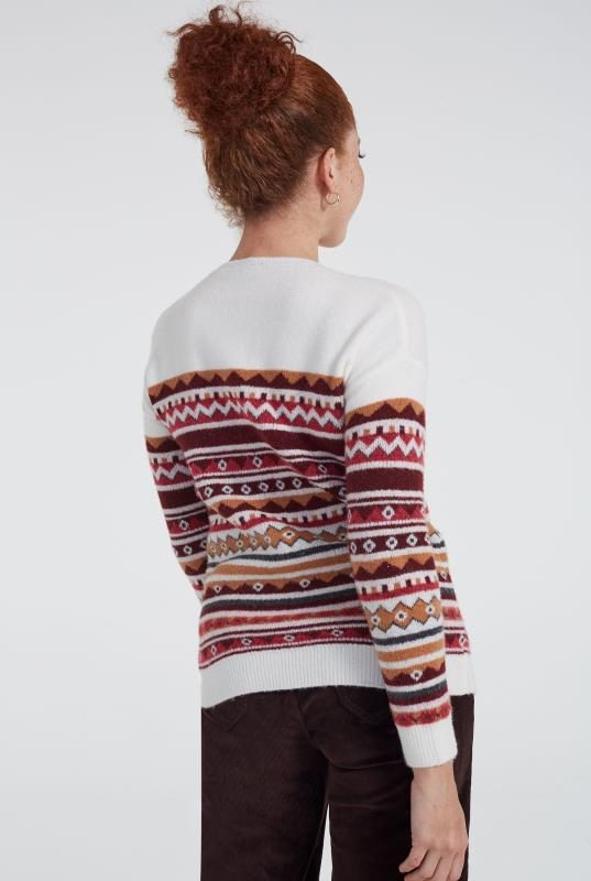 Wool Blend Fairisle Sweater