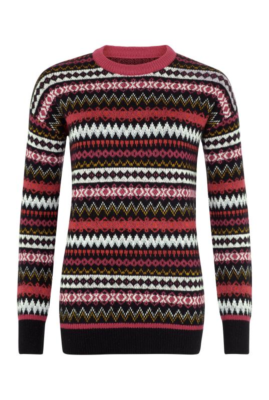 Longline Fairisle Sweater