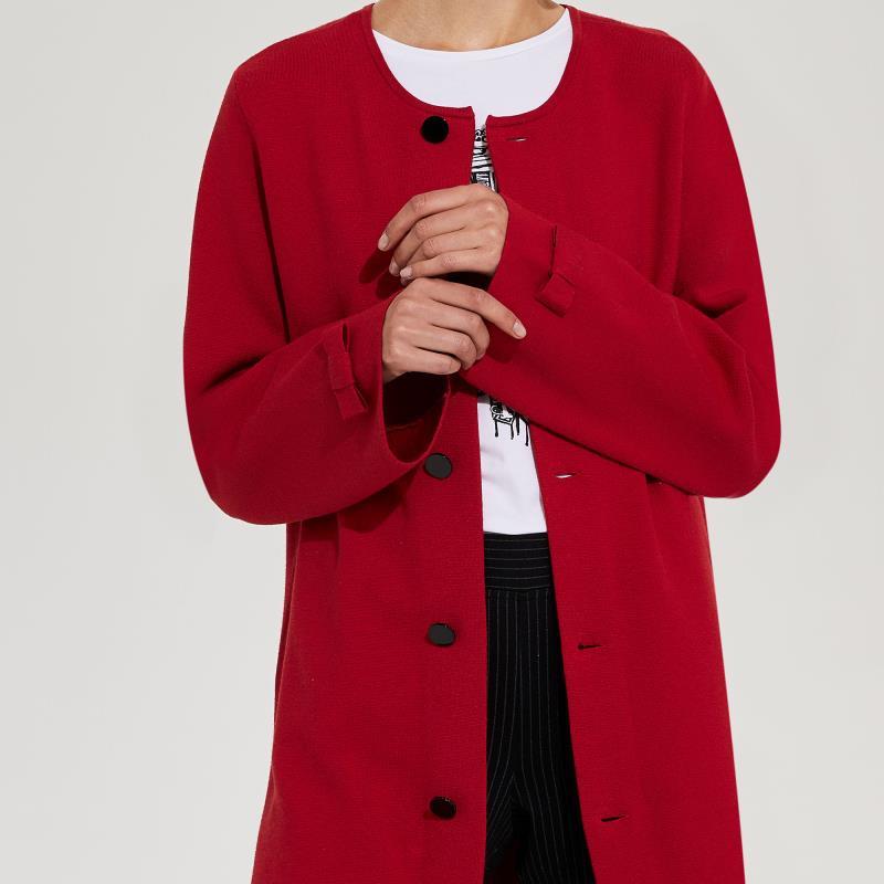 Karl Lagerfeld Paris Double Knit Cardigan Jacket