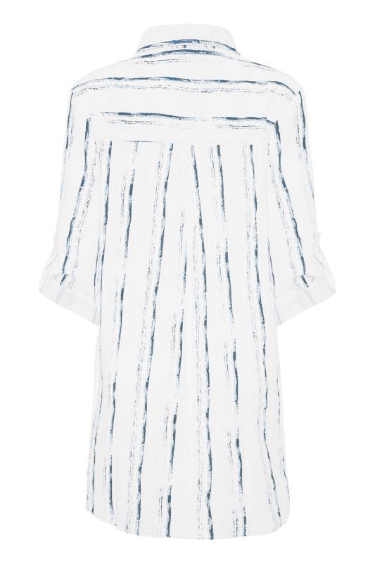 LTS White Dip Back Stripe Shirt_BK.jpg
