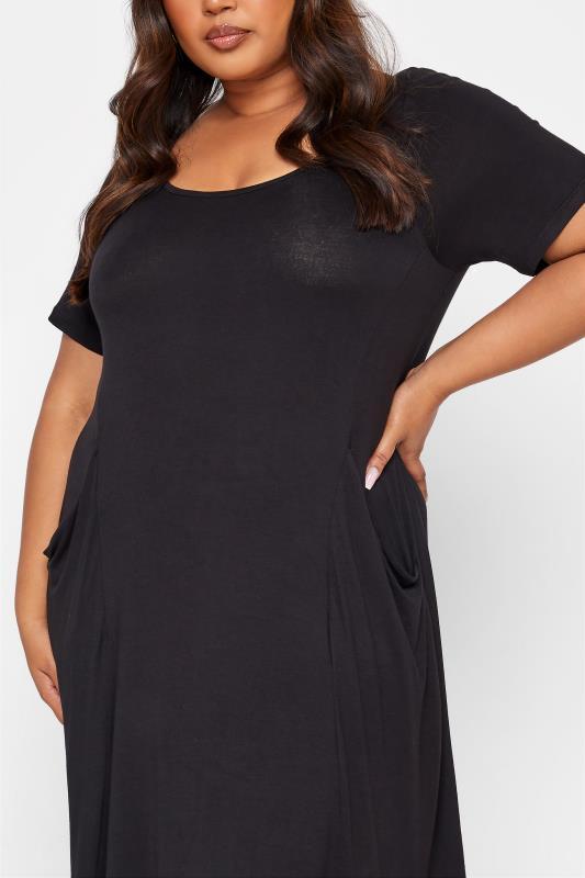 Black Drape Pocket Midi Dress_D.jpg