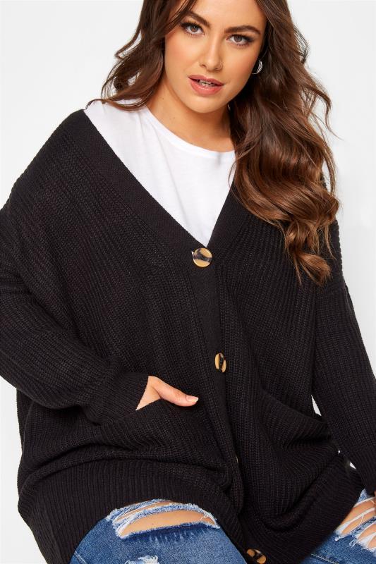 Black Button Knitted Cardigan_D.jpg