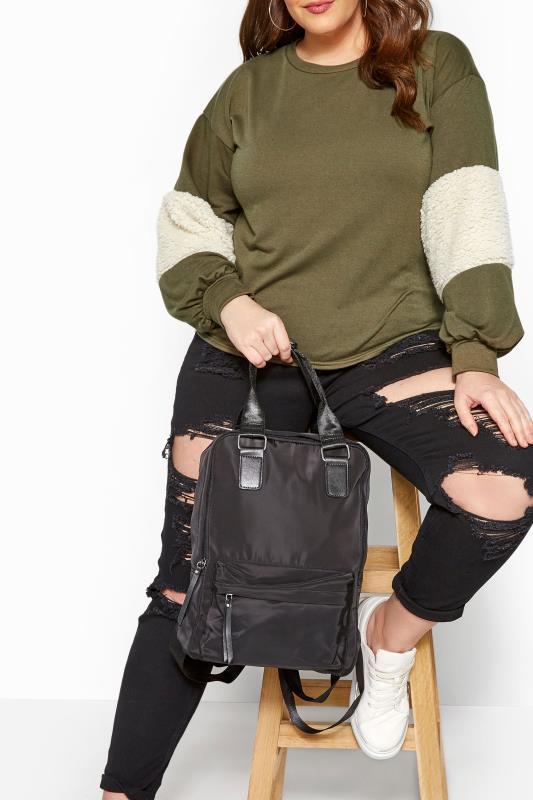 Bags & Purses dla puszystych Black Backpack
