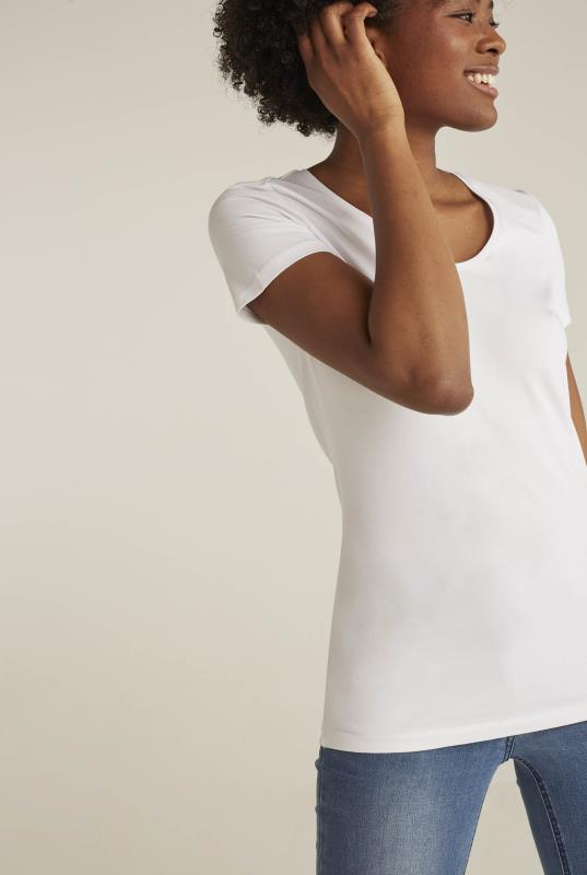 The Short Sleeve Cotton V-Neck Tee