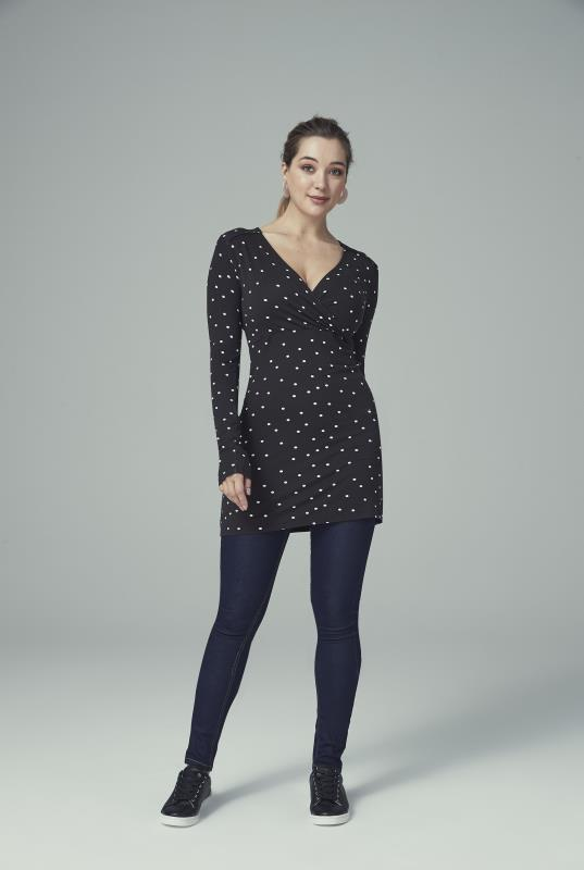 Easy Wrap Front Tunic