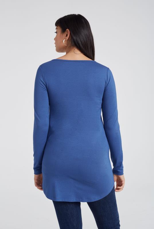 Blue Essential Tunic