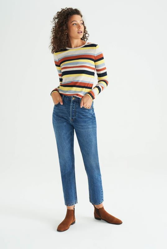 Striped Rib Top