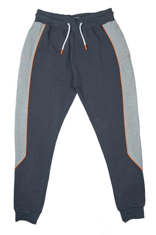 STUDIO A Grey Colour Block Joggers