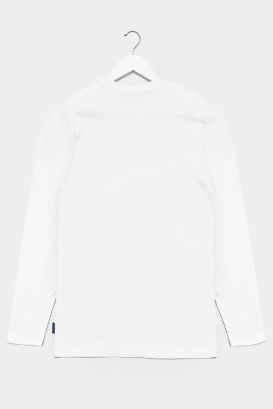 BadRhino White Plain Long Sleeve T-Shirt_BK.jpg