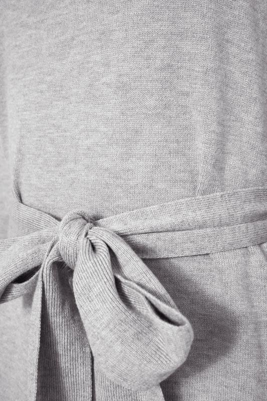 LTS Grey Roll Neck Knitted Midi Dress_S.jpg