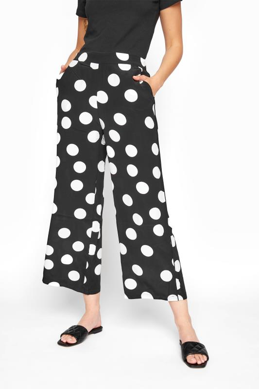 Black & White Polka Dot Print Culottes_B.jpg