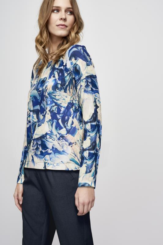 Y.A.S Tall Glaze Floral Top