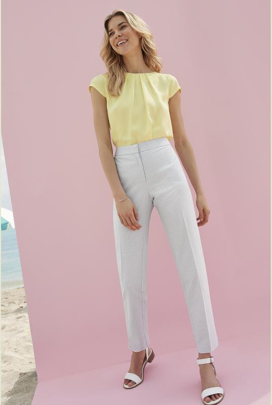 Yellow Silky Short Sleeve Top_2.jpg