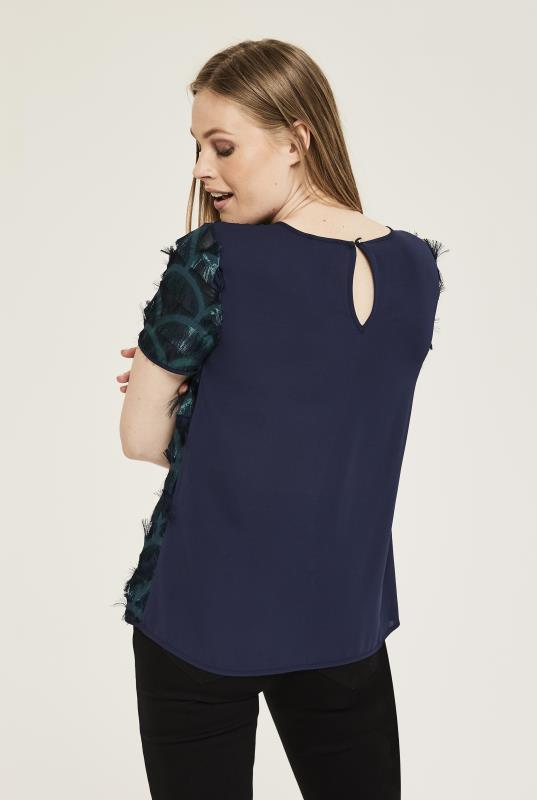 Fringed Sparkle Top