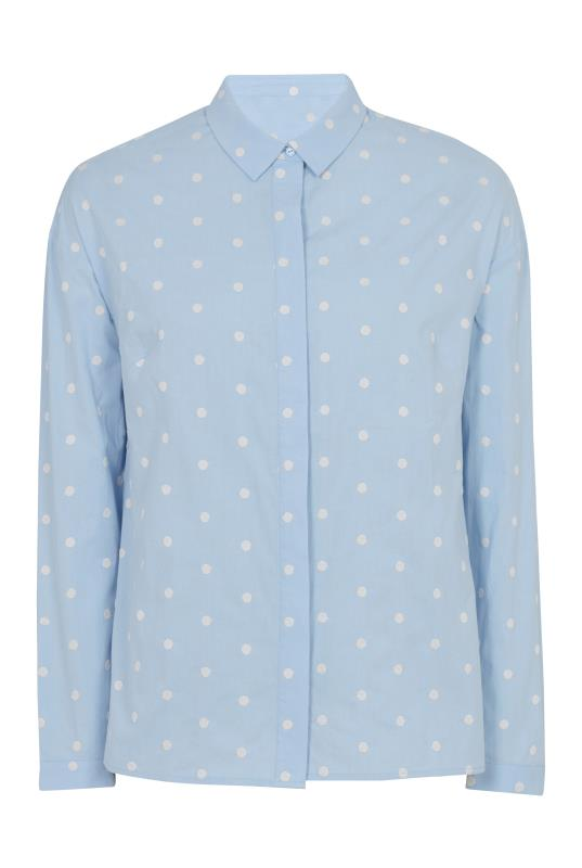Embroidered Spot Relaxed Blouse