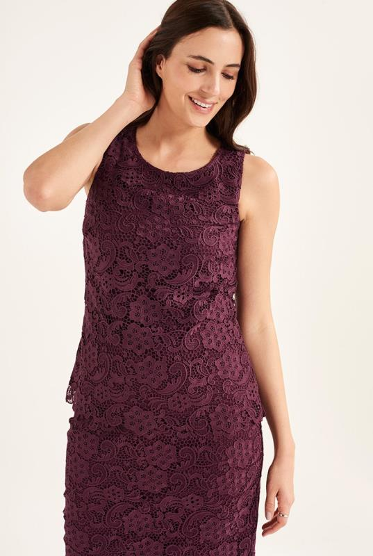Premium Lace Sleeveless Top