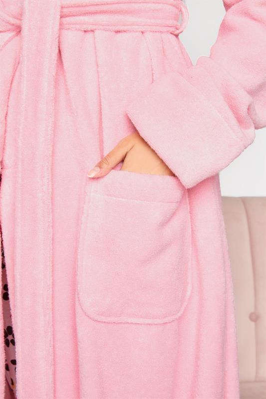 LTS Pink Cotton Maxi Robe_E.jpg