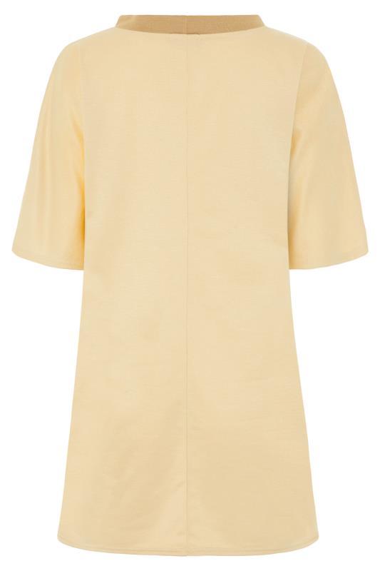 LTS Beige Contrast Tunic Sweatshirt_BK.jpg