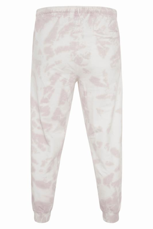 ANOTHER INFLUENCE White Tie Dye Joggers_BK.jpg