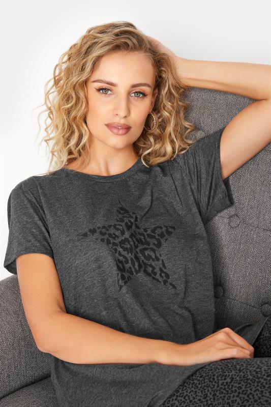 LTS Grey Leopard Print Star Pyjama Set_D.jpg