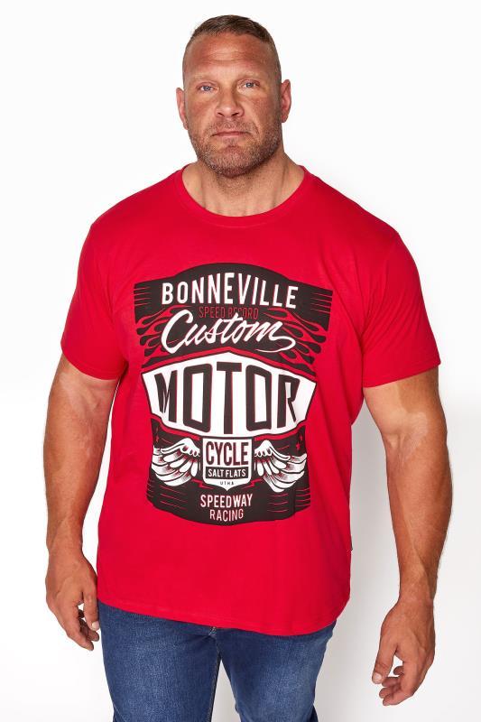BadRhino Red Bonneville Motor T-Shirt