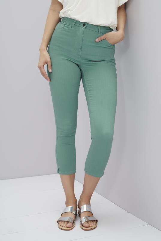 Sage Supersoft Crop Legging Jeans
