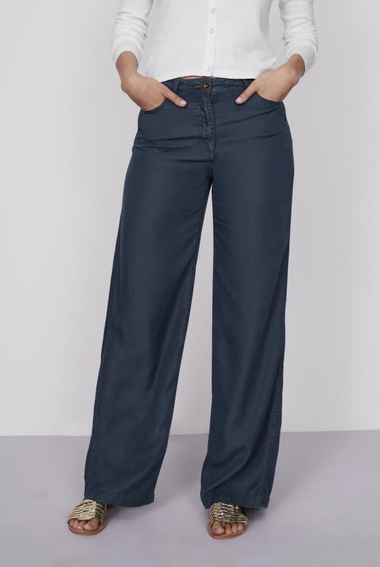 Wideleg Tencel Jeans