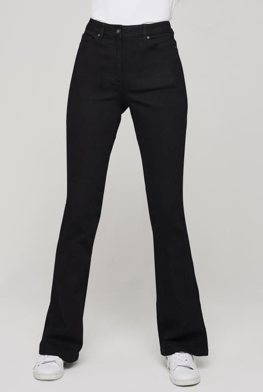 Black Shaper Bootcut Jeans