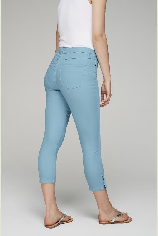 Zip Hem Crop Jean