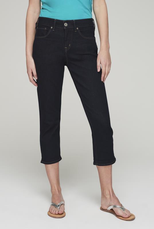 Tall Capris Silver Avery Capri Jeans
