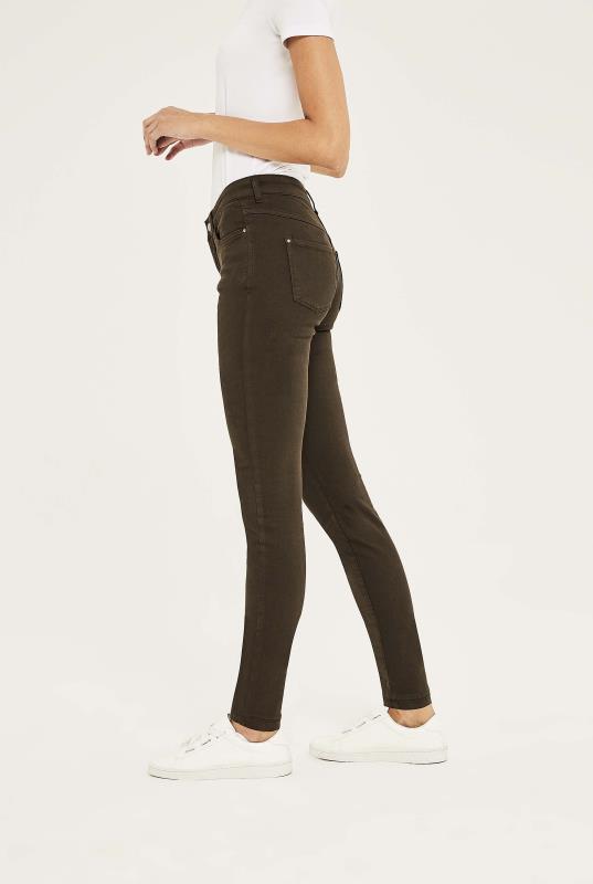 MAC Brown Skinny Jean