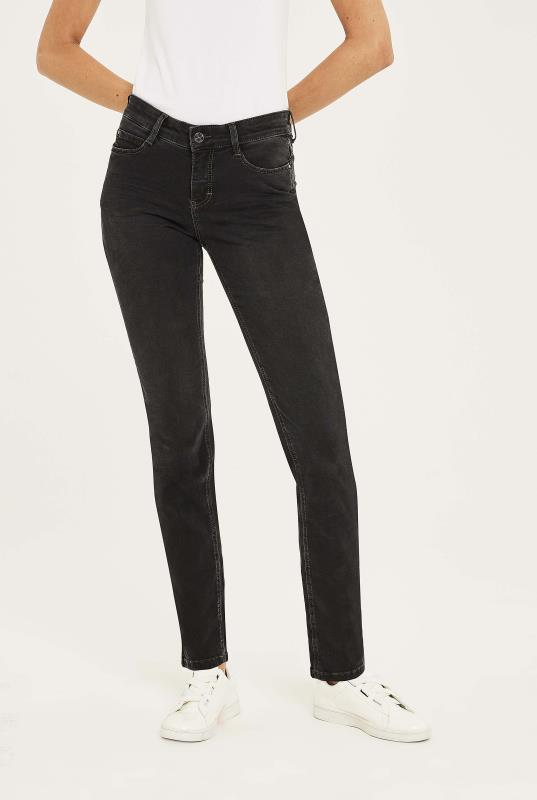 Tall Jeans MAC Black Dream Straight Jeans