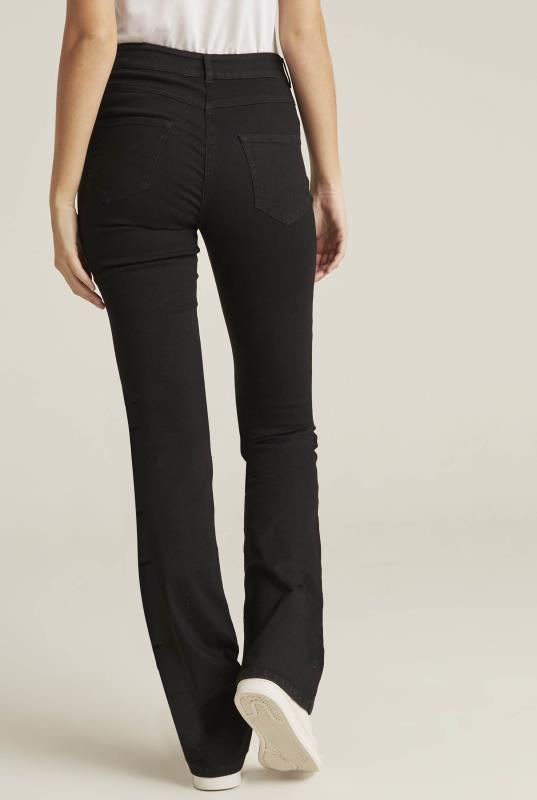 Slim Bootcut Mid Rise Jean