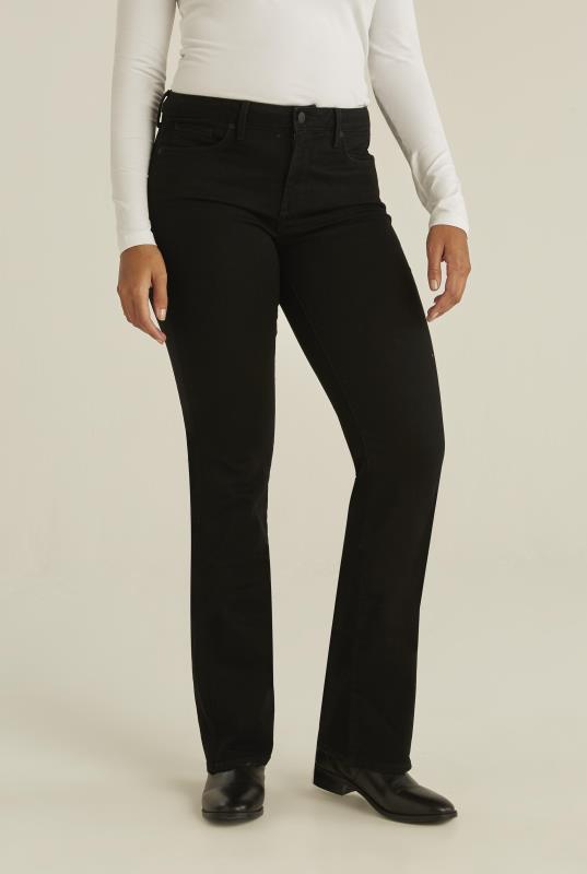 Tall Jeans NYDJ Barbara Bootcut Black Jeans