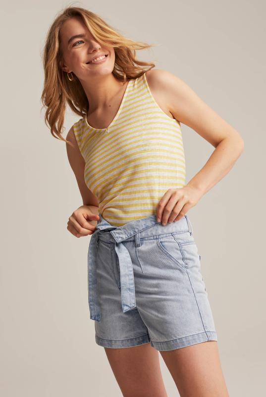 Tall Shorts Paperbag Waist Short