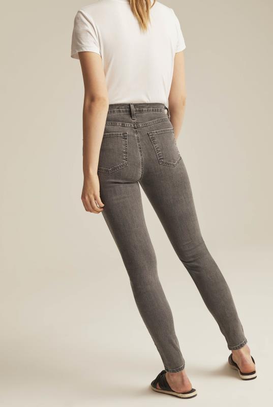 YOGA Grey Rachel Skinny Jeans