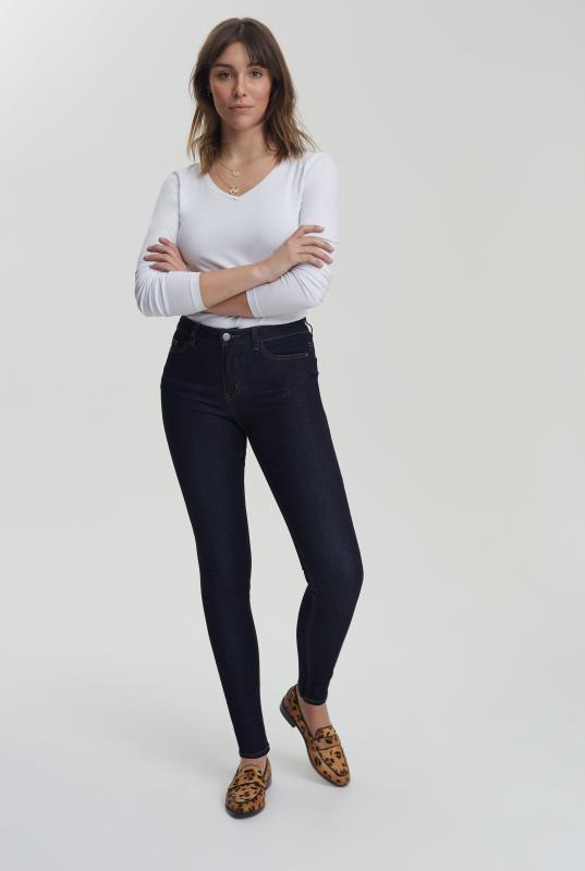 Tall Jeans Indigo Blue Skinny Low Rise Jeans