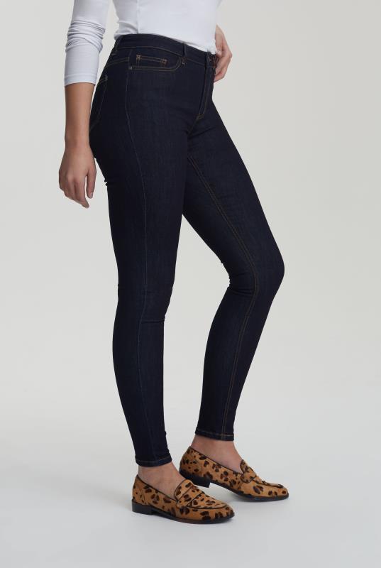 Indigo Blue Skinny Low Rise Jeans