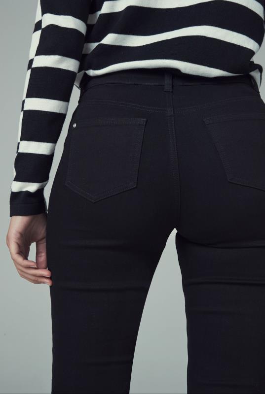 Slim Leg Mid Rise Jean