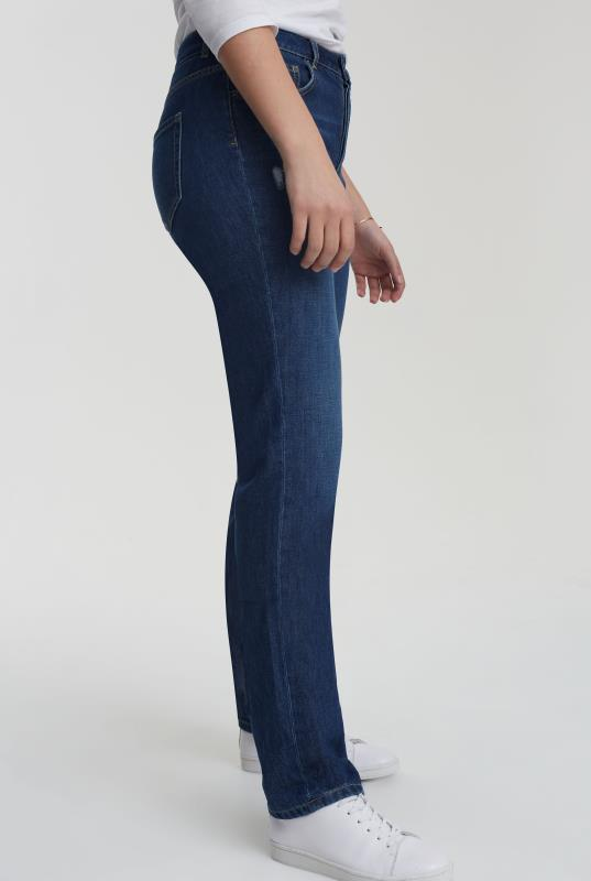 Dark Blue Vintage Straight Jean