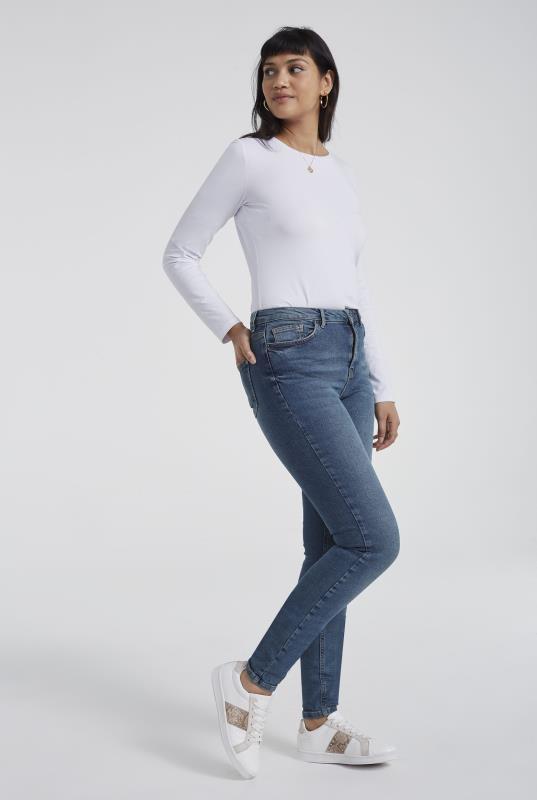 Blue Vintage Authentic Skinny Jeans