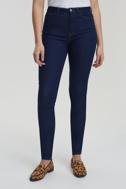 Tall Jeans Blue Ultra Stretch Skinny Jeans