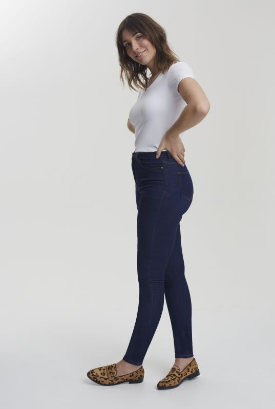 Blue Ultra Stretch Skinny Jeans