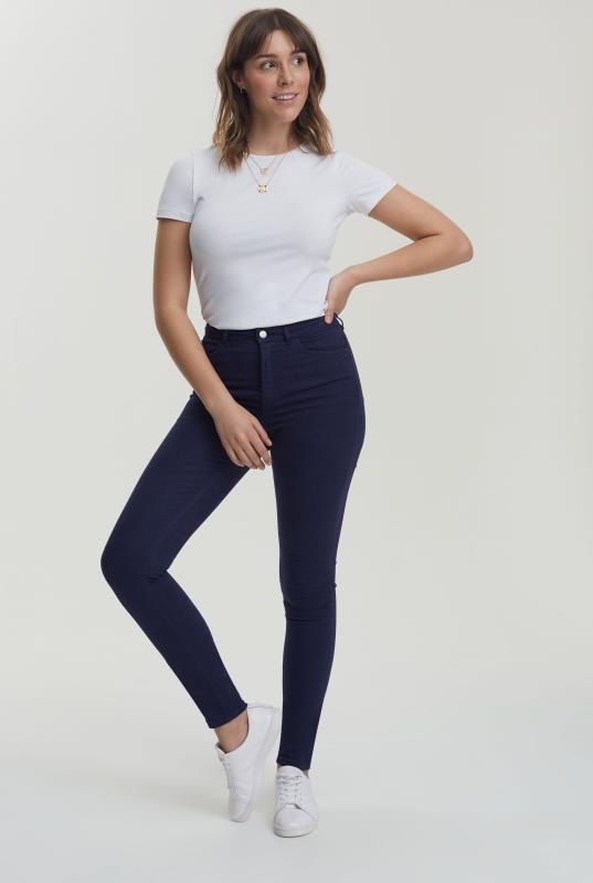 Dark Blue Ultra Stretch Skinny Jeans
