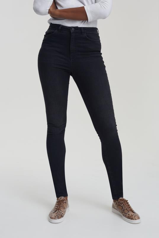 Tall Jeans Black Ultra Stretch Skinny Jeans