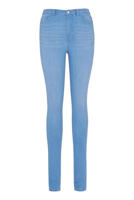 Light Wash Blue Ultra Stretch Skinny Jeans