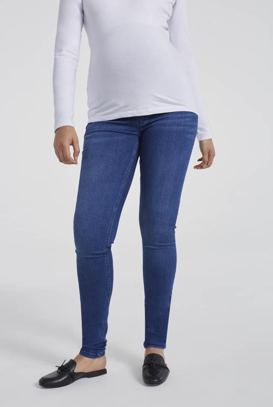 Tall Jeans MATERNITY Blue Denim Jean