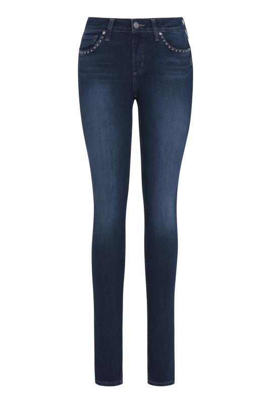 Silver Jeans Avery Skinny Studded Jean