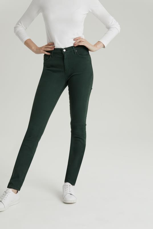Tall Jeans YOGA JEANS Green Rachel Skinny Jean