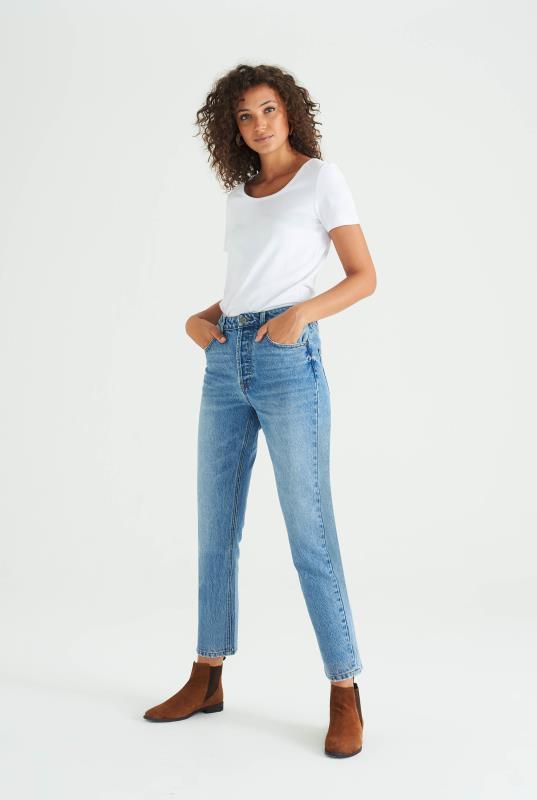 Tall Jeans Light Blue Straight Jean